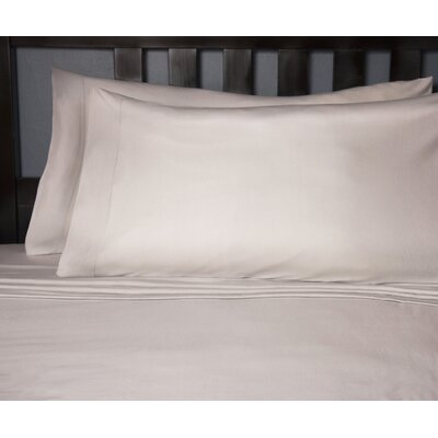 Soft Tees Knit Sheet Set Size: Twin, Color: Silver