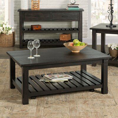 Osterhout Coffee Table Color: Antique Black