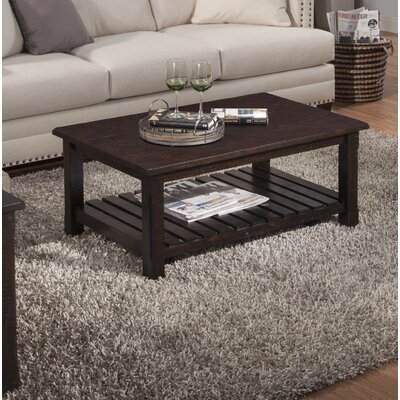 Osterhout Coffee Table Color: Espresso