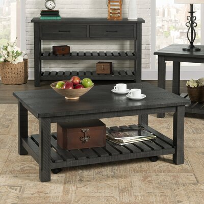 Osterhout Coffee Table Color: Gray