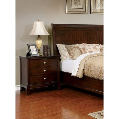 Kennerson 3 Drawer Nightstand