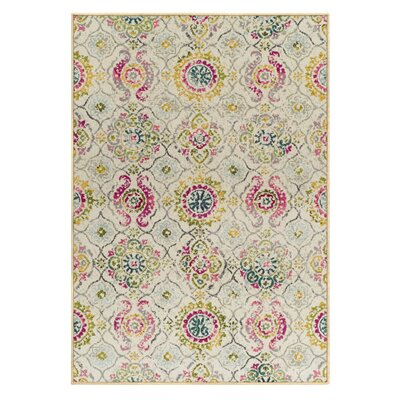Albata Beige Area Rug Rug Size: Rectangle 5 x 8