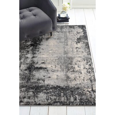 Holgate Trance Gray Area Rug Rug Size: Rectangle 710 x 106
