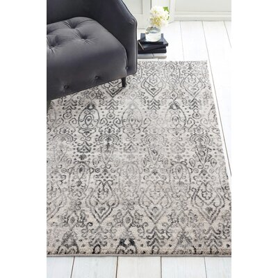 Caprice Vision Cream Area Rug Rug Size: Rectangle 27 x 42