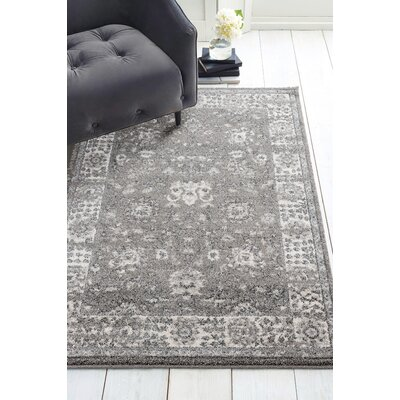 Kinch Dream Gray Area Rug Rug Size: Rectangle 53 x 72