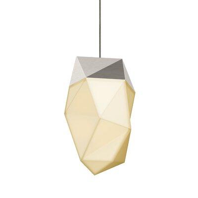 1-Light LED Mini Pendant Finish: Satin Nickel