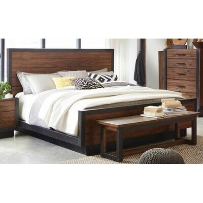 Berghoff Platform Bed Size: California King