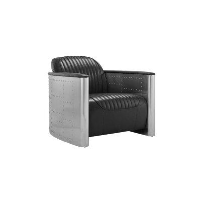 Che Barrel Chair Upholstery: Black