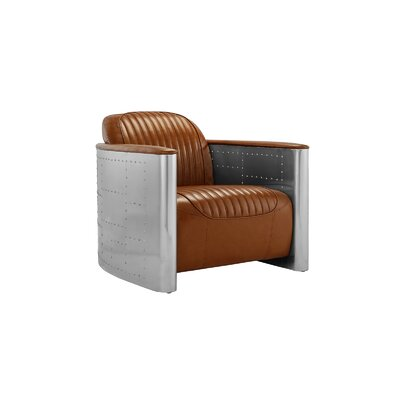 Che Barrel Chair Upholstery: Light Brown