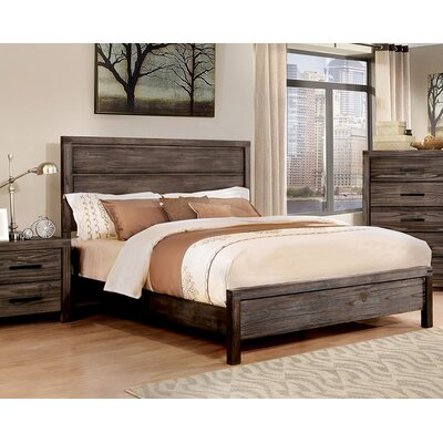 Pettigrew Panel Bed Size: King