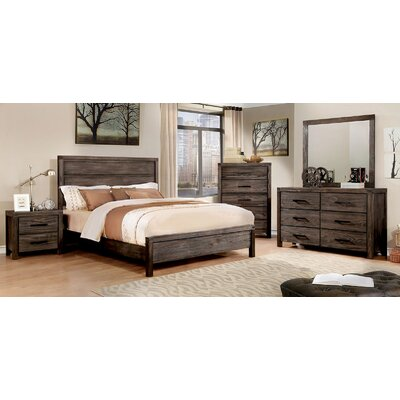 Pettigrew Panel Configurable Bedroom Set