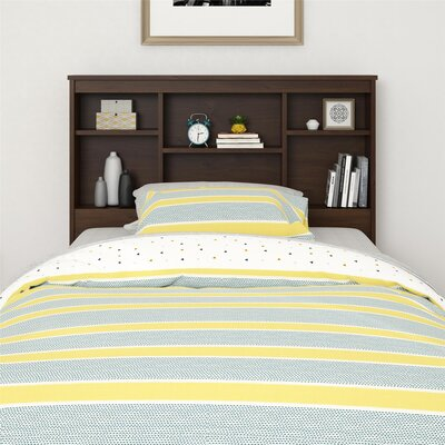Warriner Twin Bookcase Headboard Color: Northfield Alder