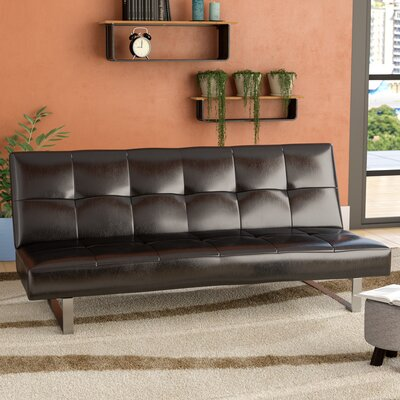 Chavez Contemporary Sleeper Sofa Upholstery: Black