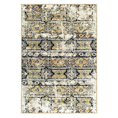 Albata Cream Area Rug Rug Size: Rectangle 8 x 10