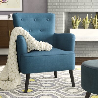 Sinan Armchair Upholstery: Blue