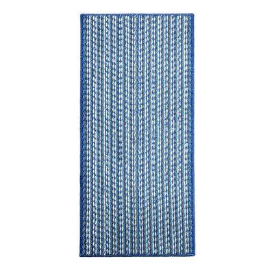 Bercht Charming Doormat Color: Blue, Mat Size: Rectangle 18 x 28