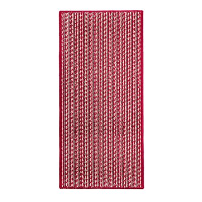 Bercht Charming Doormat Color: Red, Mat Size: Rectangle 18 x 28
