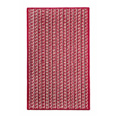 Bercht Charming Doormat Color: Red, Mat Size: Rectangle 18 x 38