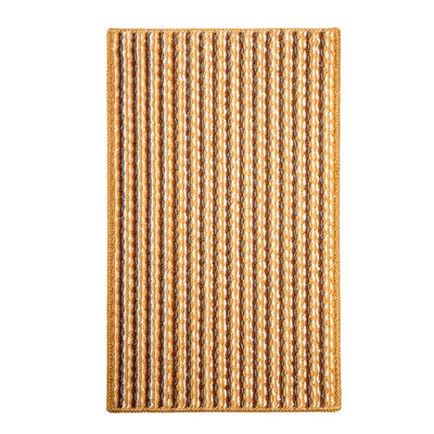 Bercht Charming Doormat Color: Yellow, Mat Size: Rectangle 18 x 38