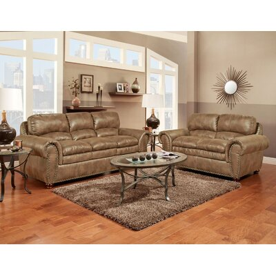 Orrstown 2 Piece Living Room Set