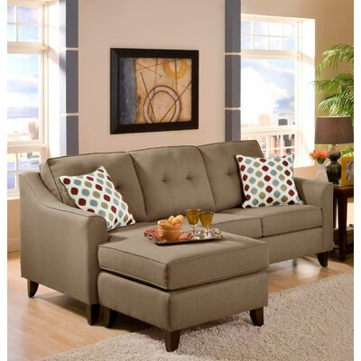 Gatsas Tufted Reversible Sectional