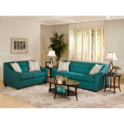 Hutter 2 Piece Living Room Set