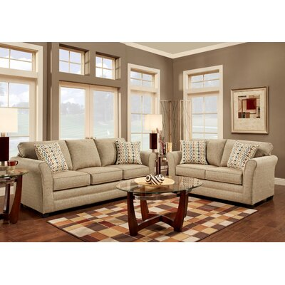 Pinckney 2 Piece Living Room Set