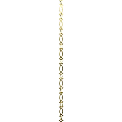 Motif Link Welded Chandelier Chain Finish: Acid Dipped