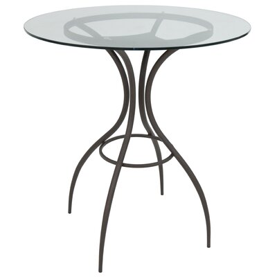 Donath Pub Table Color: Matte Brown Bronze, Size: 39.62