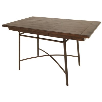 Schurda Pub Table Color: Bronze Autumn Rust/Brown Russet Cordovan
