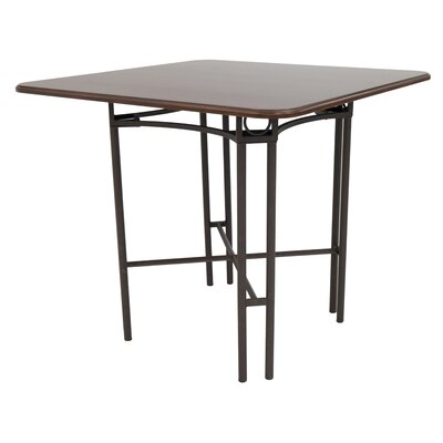 Heissenberger Gathering Pub Table Size: 37.25 H x 48 W x 48 D