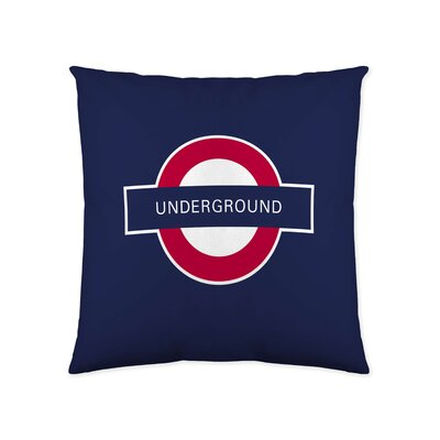 Great Britain Decorative Cotton Throw Pillow