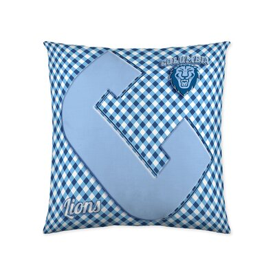 Columbia Lions Cotton Throw Pillow