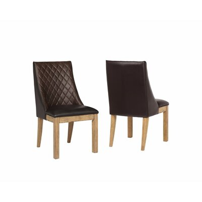 Berenice Demi-Wingback Upholstered Dining Chair