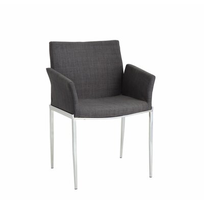 Loga Arched Upholstered Dining Chair