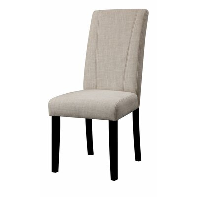 Polzin High Back Parson Upholstered Dining Chair