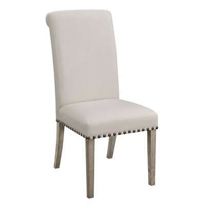 Restormel Rolled Back Parson Upholstered Dining Chair