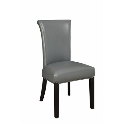 Pomerleau Casual Upholstered Dining Chair Upholstery Color: Gray