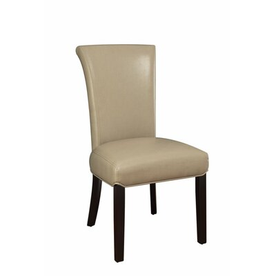 Pomerleau Casual Upholstered Dining Chair Upholstery Color: Beige