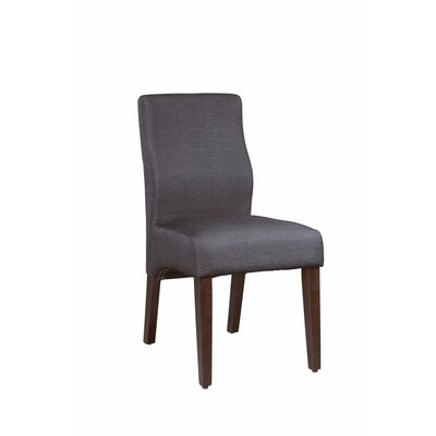 Gippetti Sturdy Upholstered Dining Chair Upholstery Color: Gray