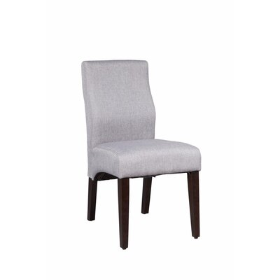 Gippetti Sturdy Upholstered Dining Chair Upholstery Color: Light Gray