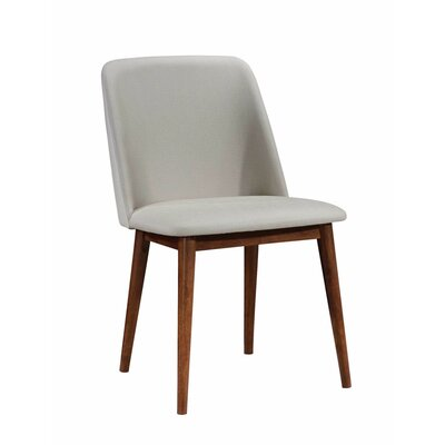 Dozier Wooden Upholstered Dining Chair