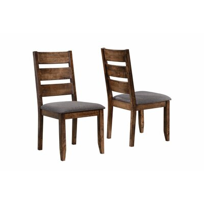 Upchurch Ladder Back Solid Wood Dining Chair