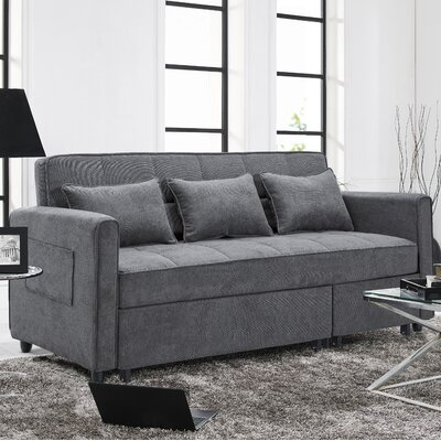Carreiro Sleeper Sofa Upholstery: Gray
