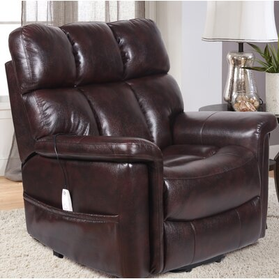 Homestead Power Lift Assist Recliner Color: Virtuoso Java