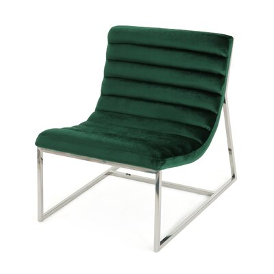 Lounge Chair Upholstery: Emerald