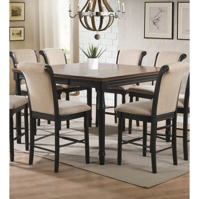 Spellman Sturdy Wooden Counter Height Dining Table