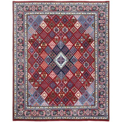 One-of-a-Kind Bushmills Joshagan Hand-Woven Wool Red Area Rug