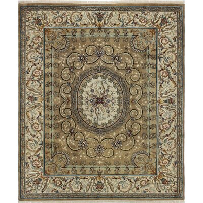 One-of-a-Kind Dutt Hand-Woven Wool Camel Area Rug