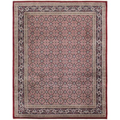 One-of-a-Kind Melton Veramin Hand-Woven Wool Red Area Rug